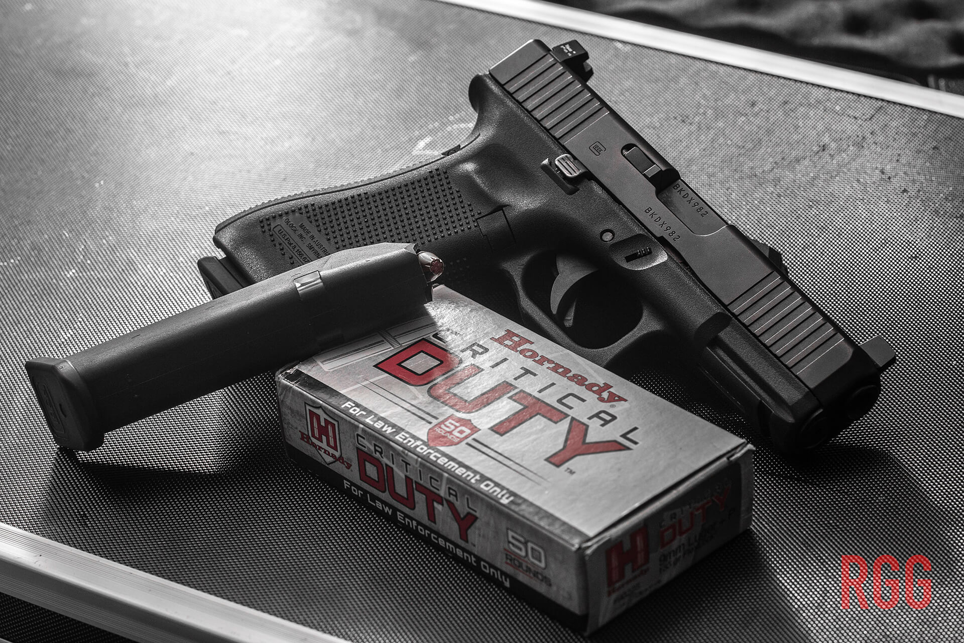 The GLOCK 45 9mm pistol is a winner whethere you are experienced or a beginner