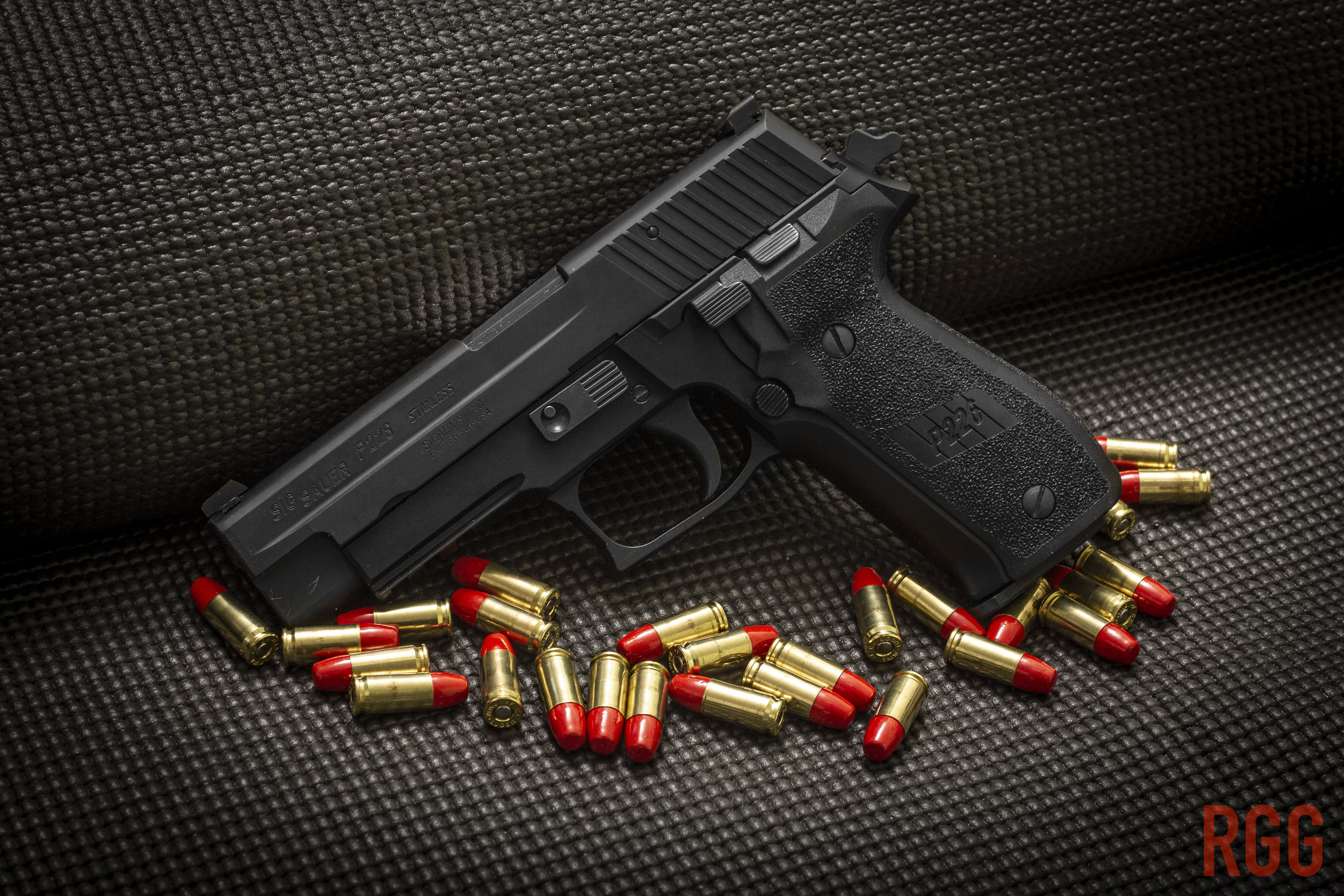A used 9mm SIG Sauer P226 is a great value for a defensive handgun.