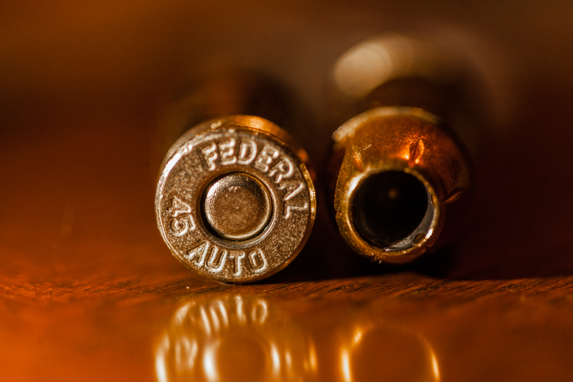Dad has to have a .45 ACP - help him feed it.