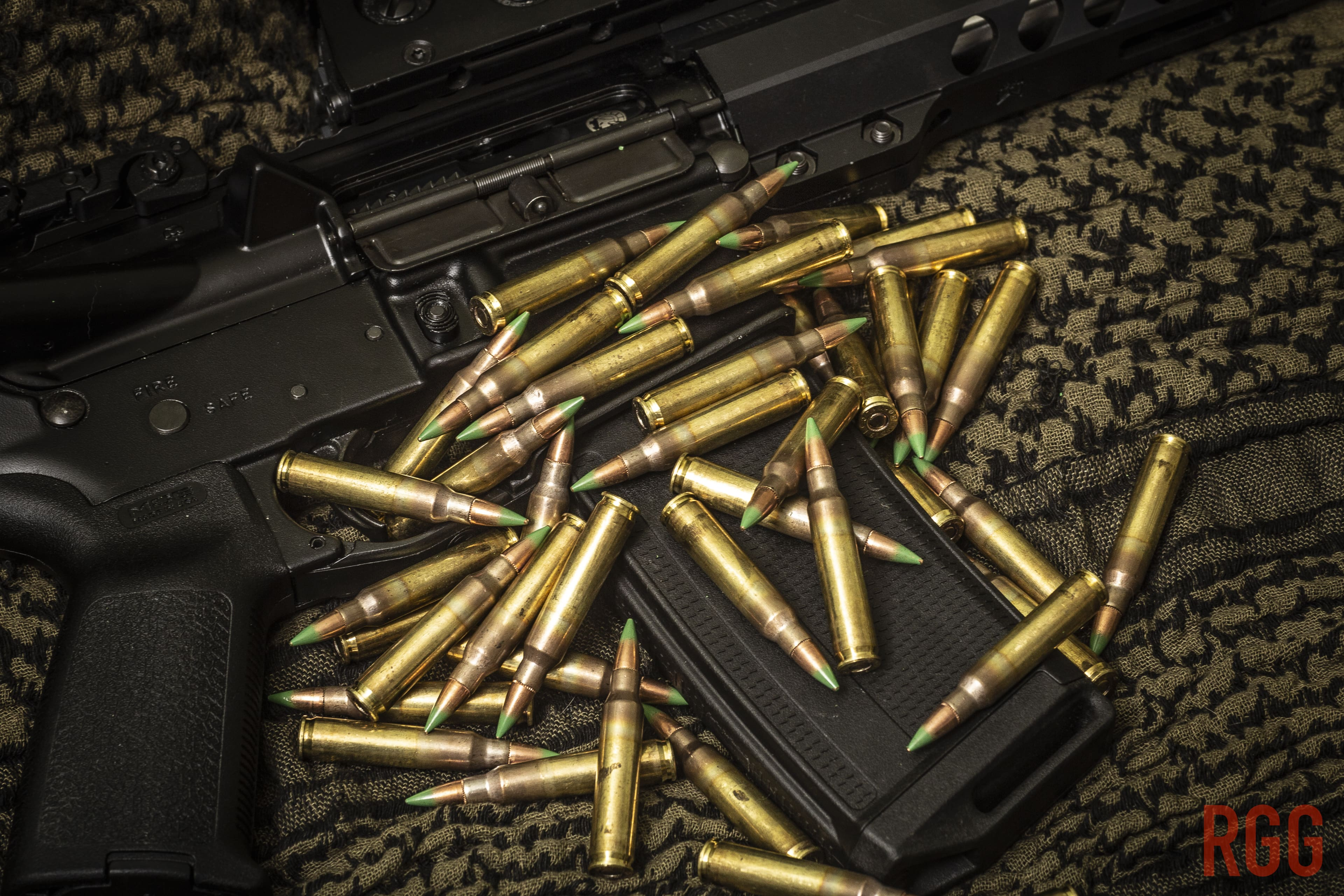 Federal Premium 5.56mm M855 aka Green Tip from the LCAAP