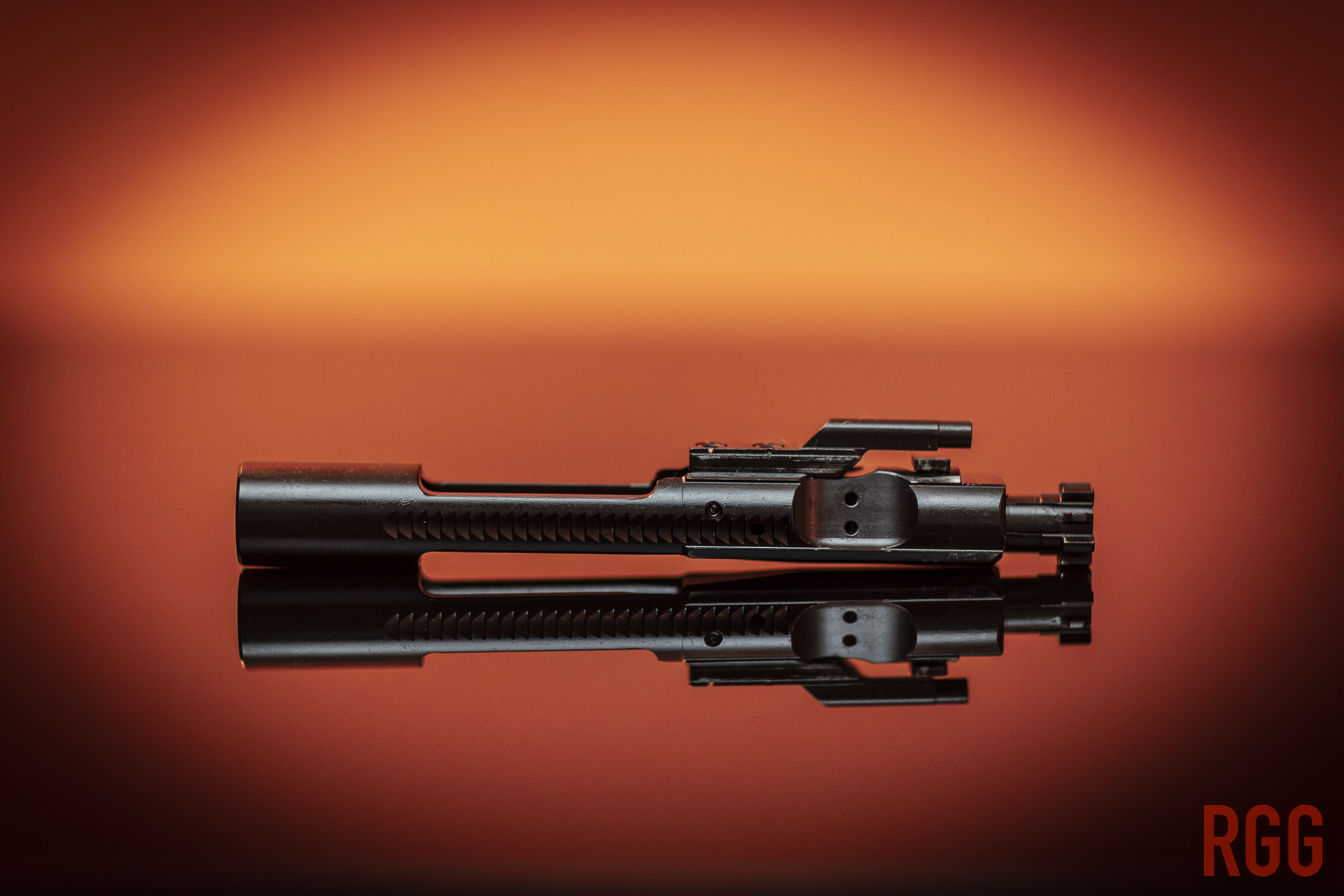 A Toolcraft Full Auto Bolt Carrier Group.