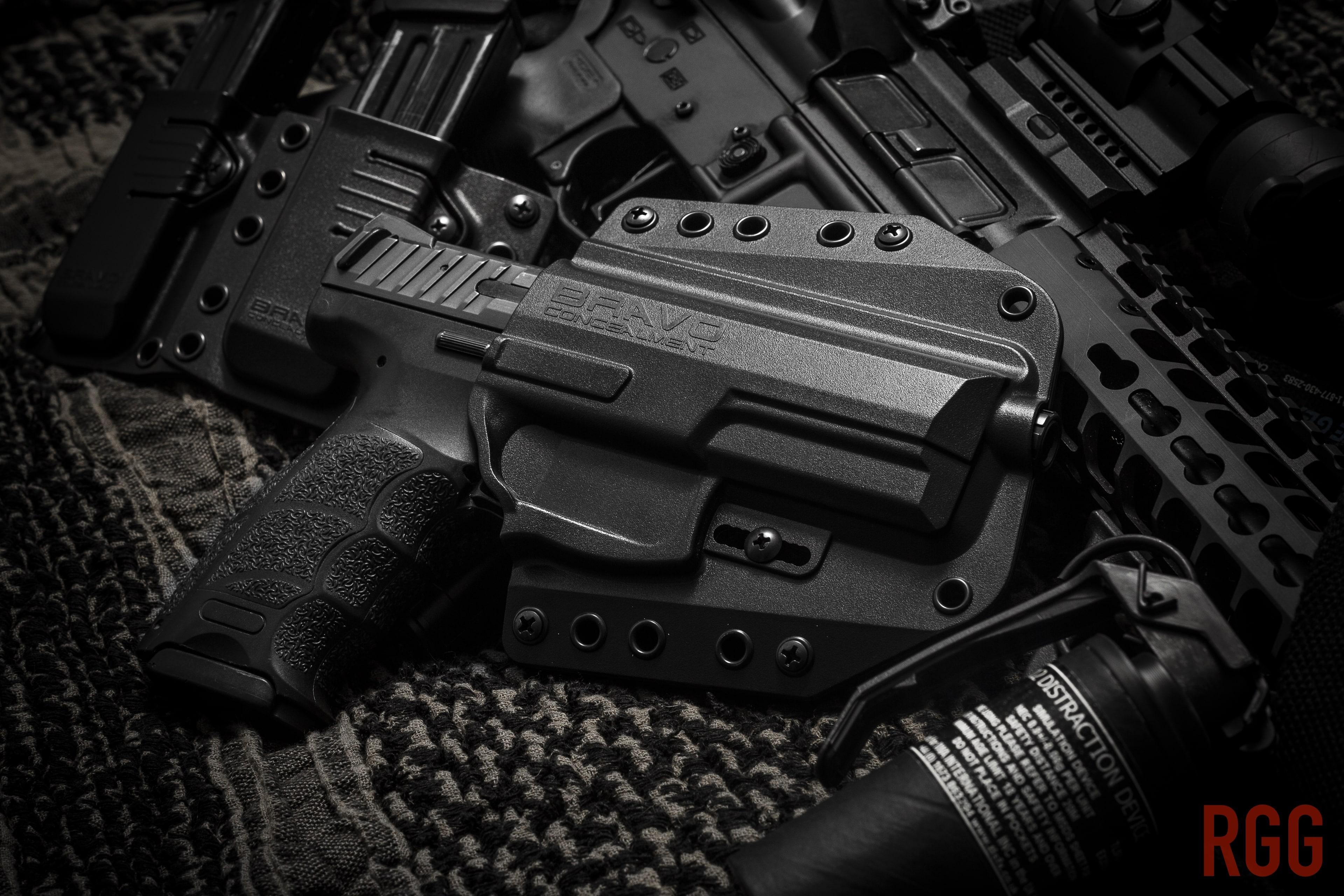 The Bravo Concealment BCA 3.0 OWB Holster for the Heckler & Koch VP9.