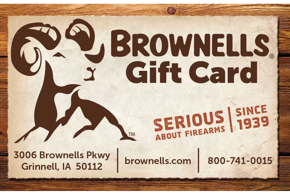 If all else fails - go with the Brownell's Gift Card.