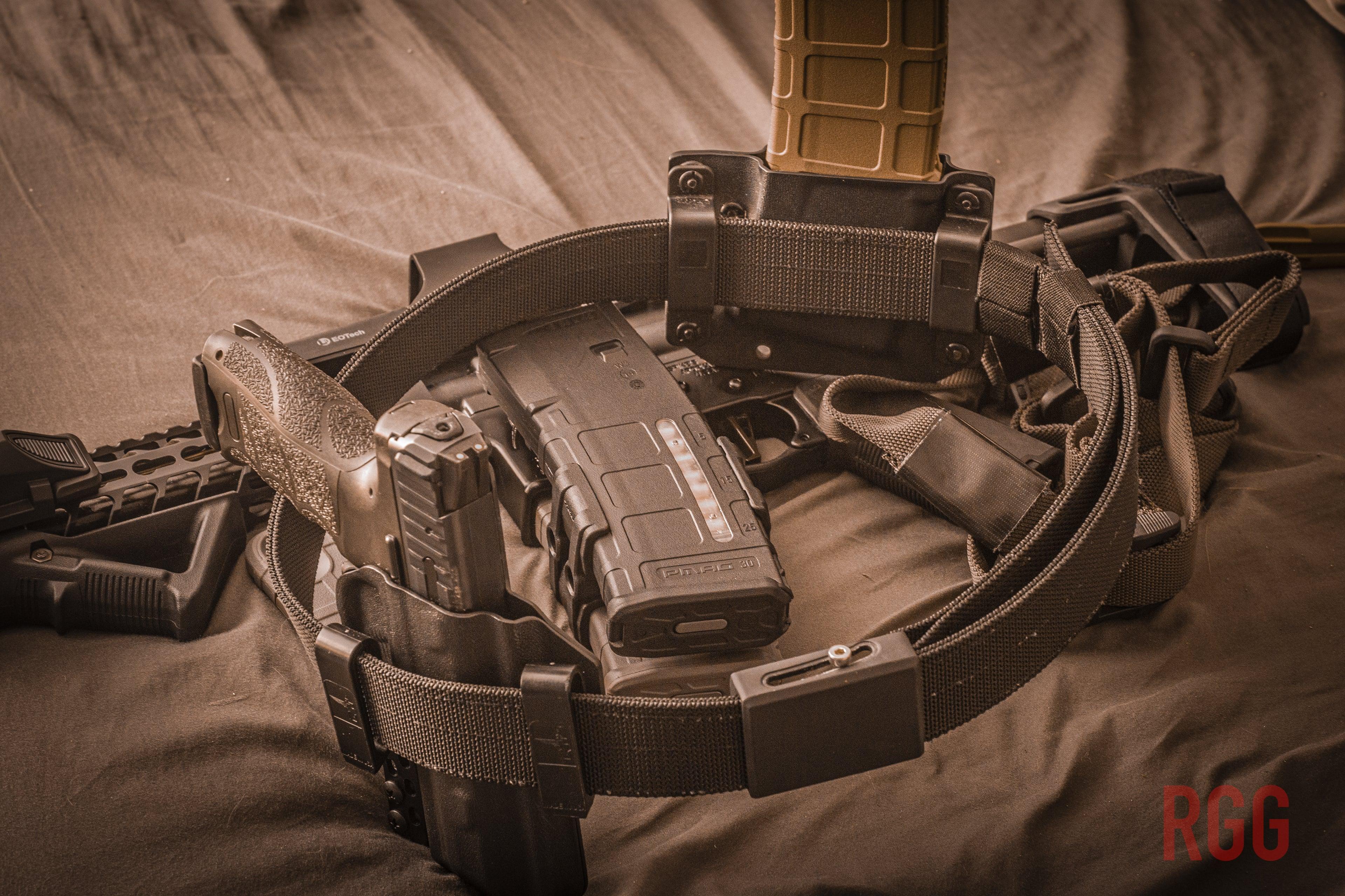 The Bravo Concealment Cinturon - A Great Gun Belt.