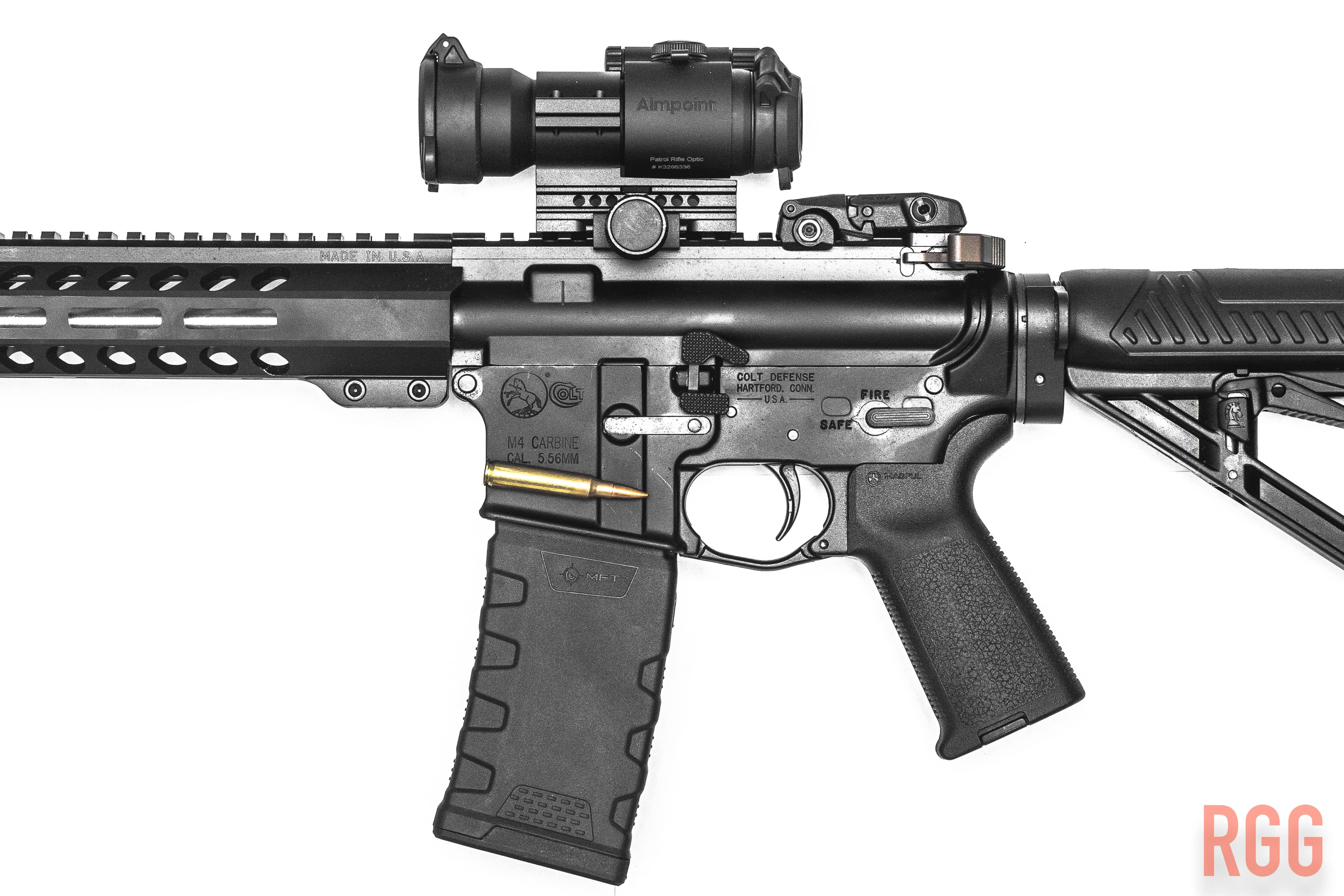 Colt LE6920 AR-15 with some modifications along the way. DL Hughley doesn't think we should have these.