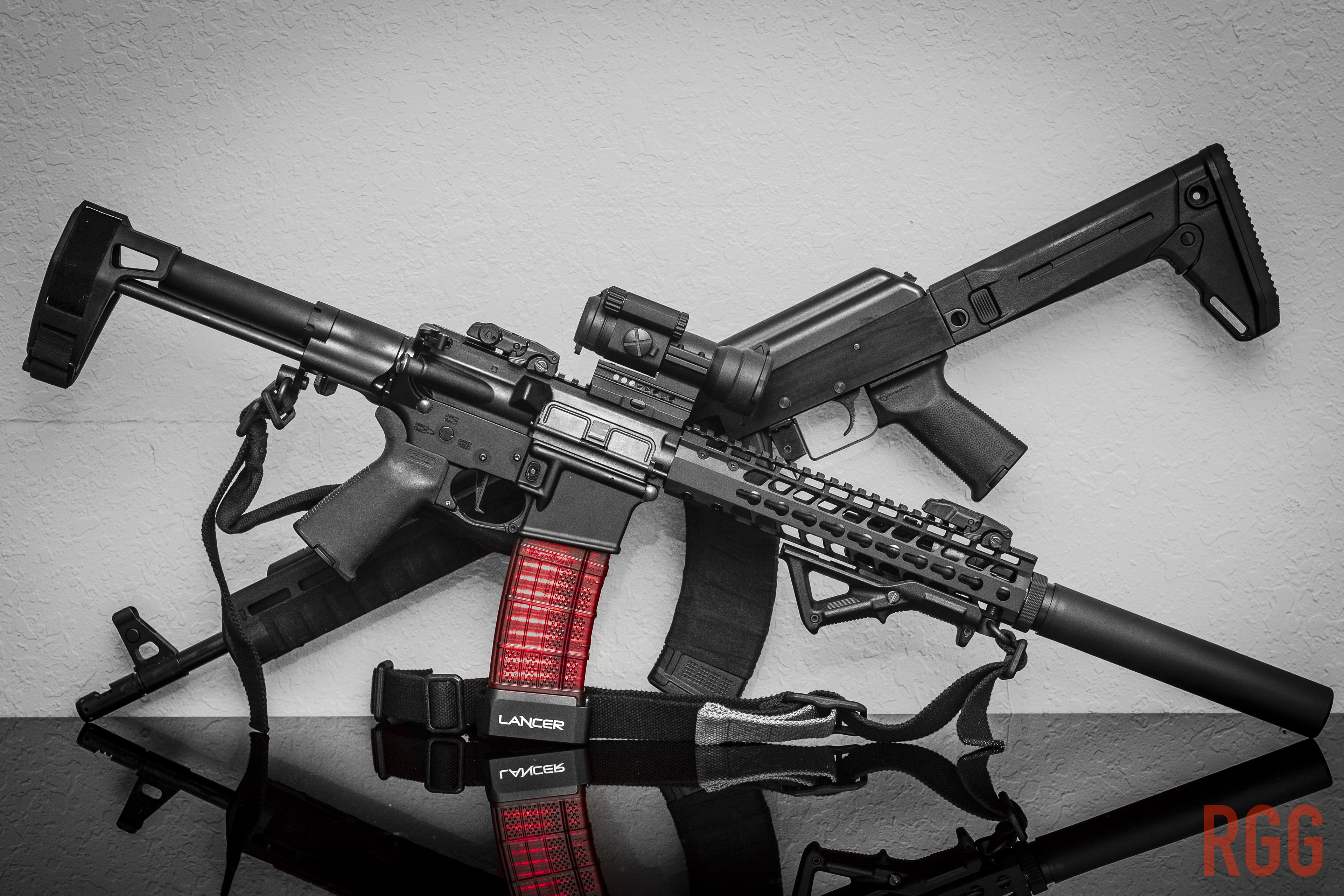 An AR or an AK - or any other firearm. It is your right to own them.