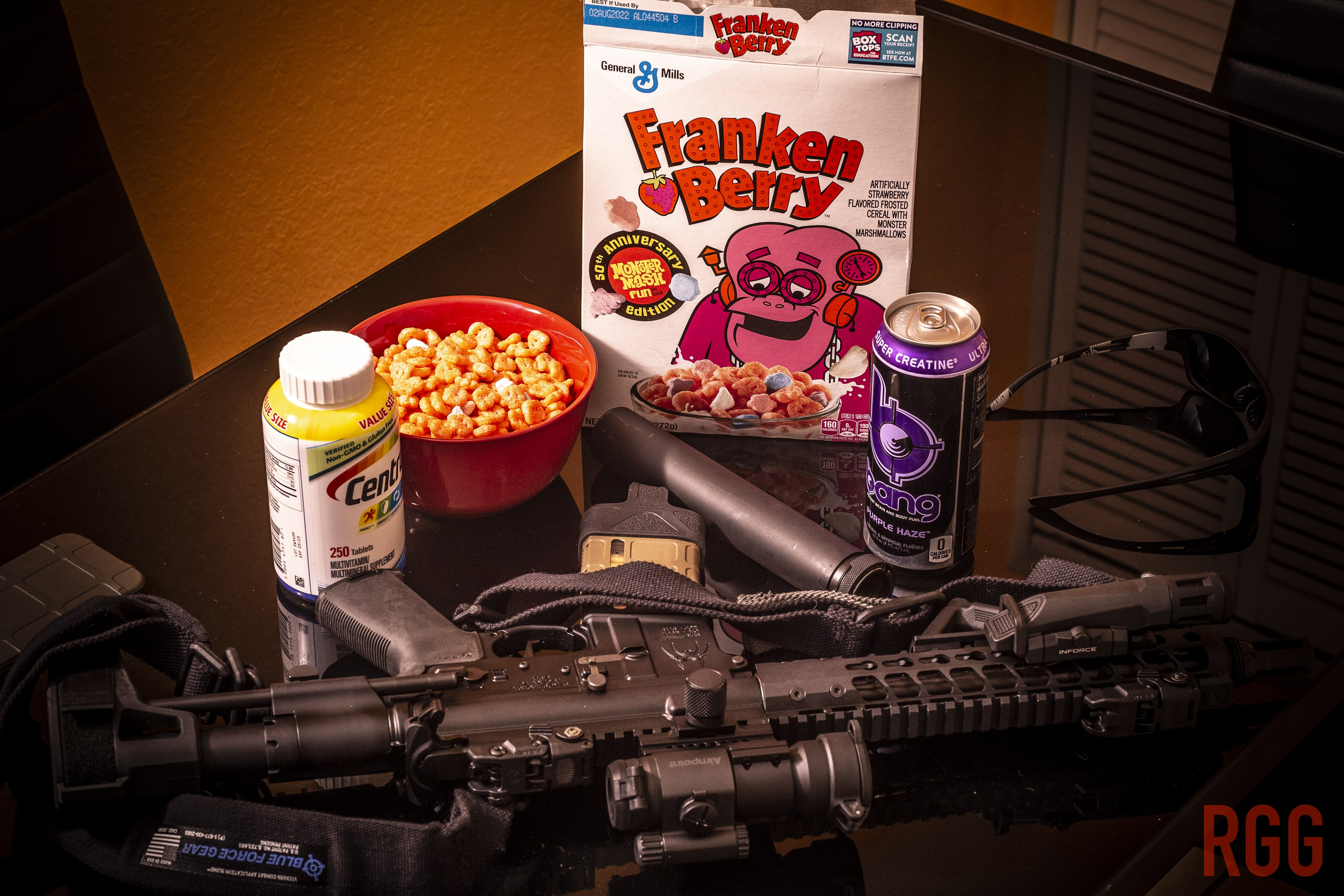 Frankenberry and a Franken-AR for this Spooky Season. Cover image inspired by Gary Hughes.