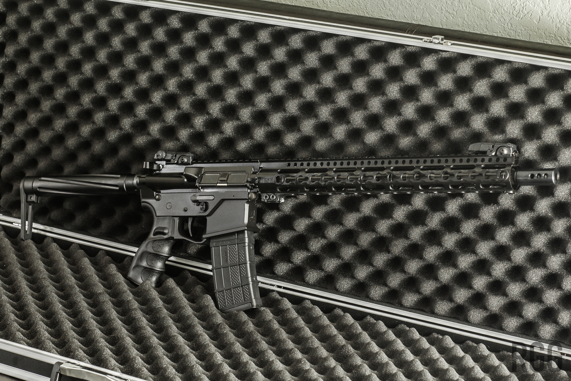 The best rifle for a beginner is a basic rifle