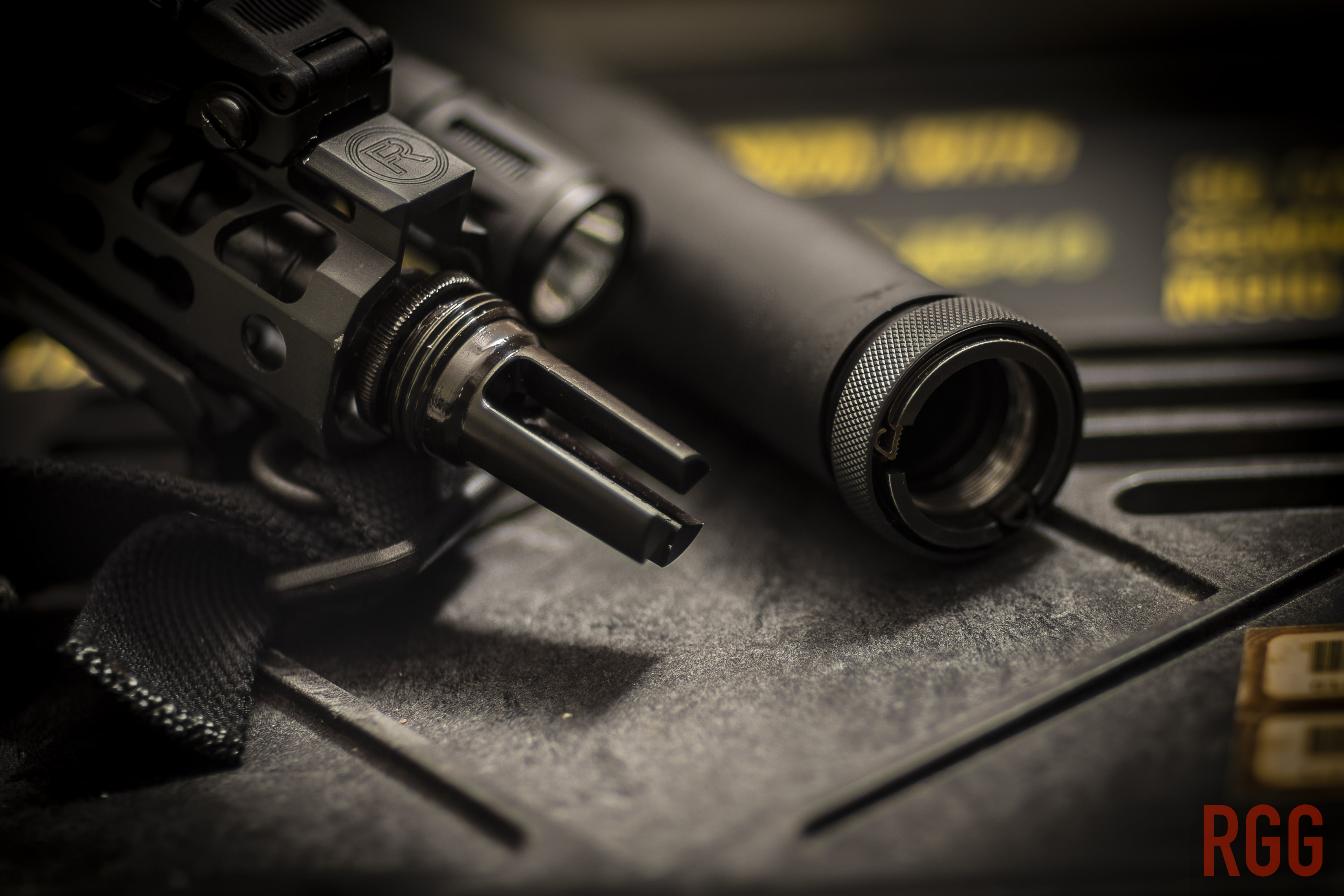 The legal sale of suppressors is goverend by the NFA. Which is sad.