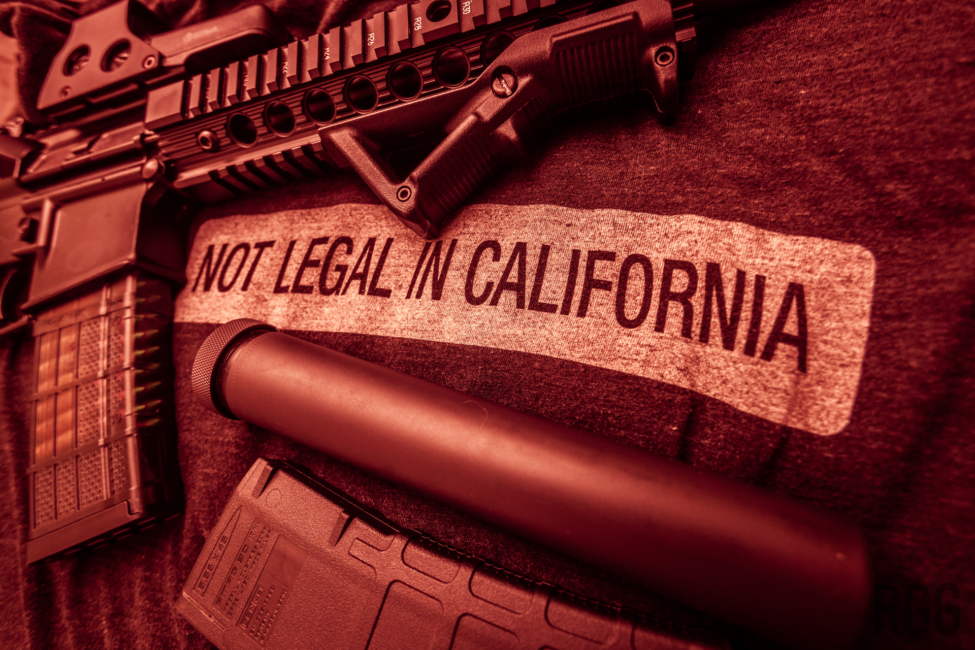 California has gone full retard with it's gun laws.