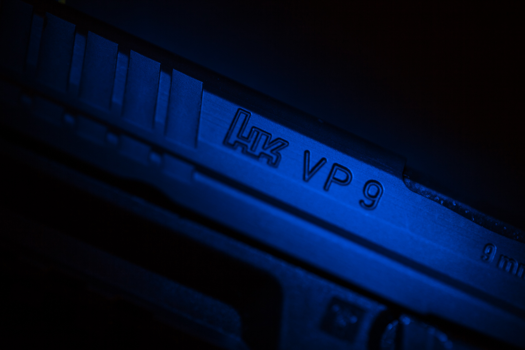 VP9 in blue