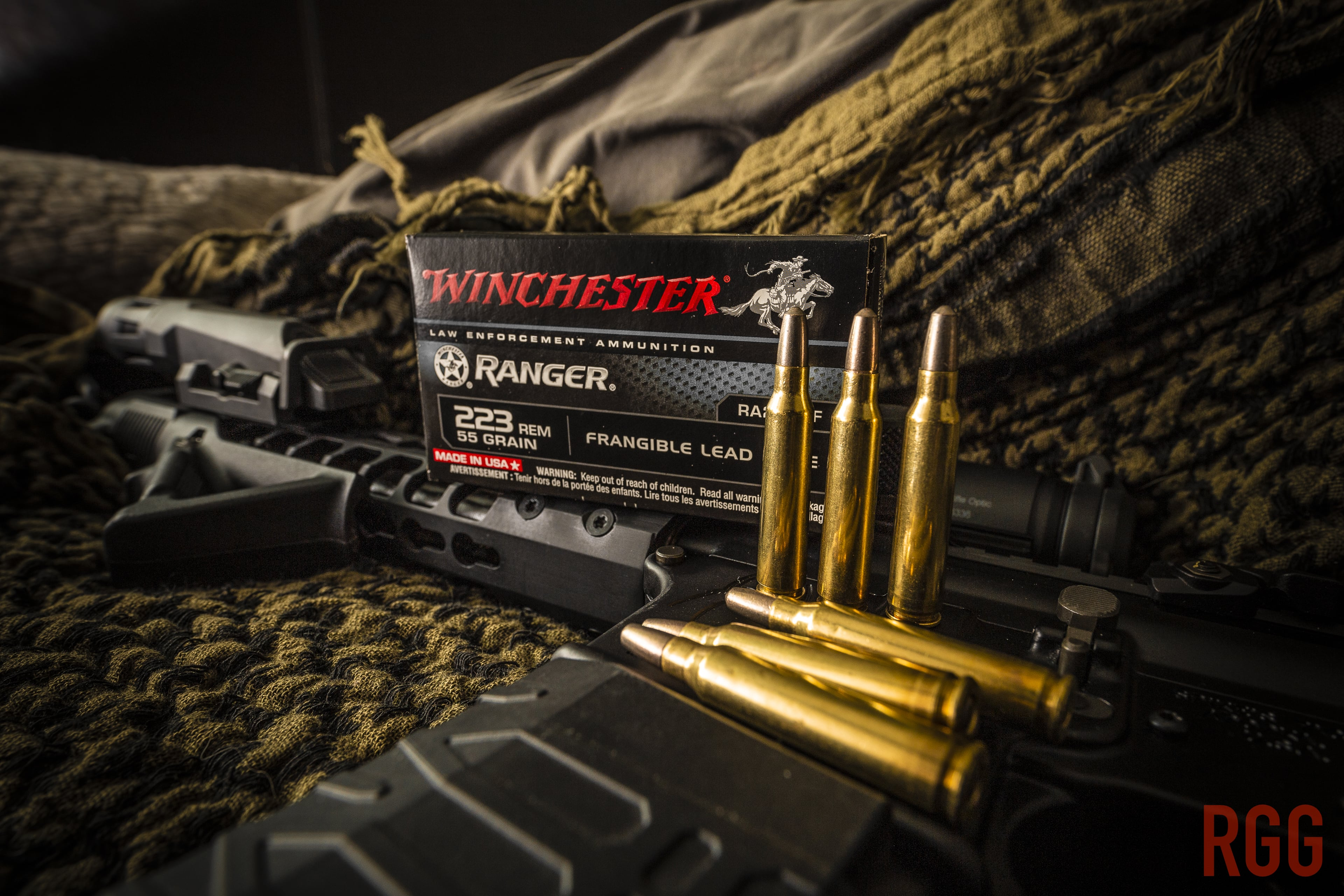 Anyone ever run this 223 ammo from Winchester?