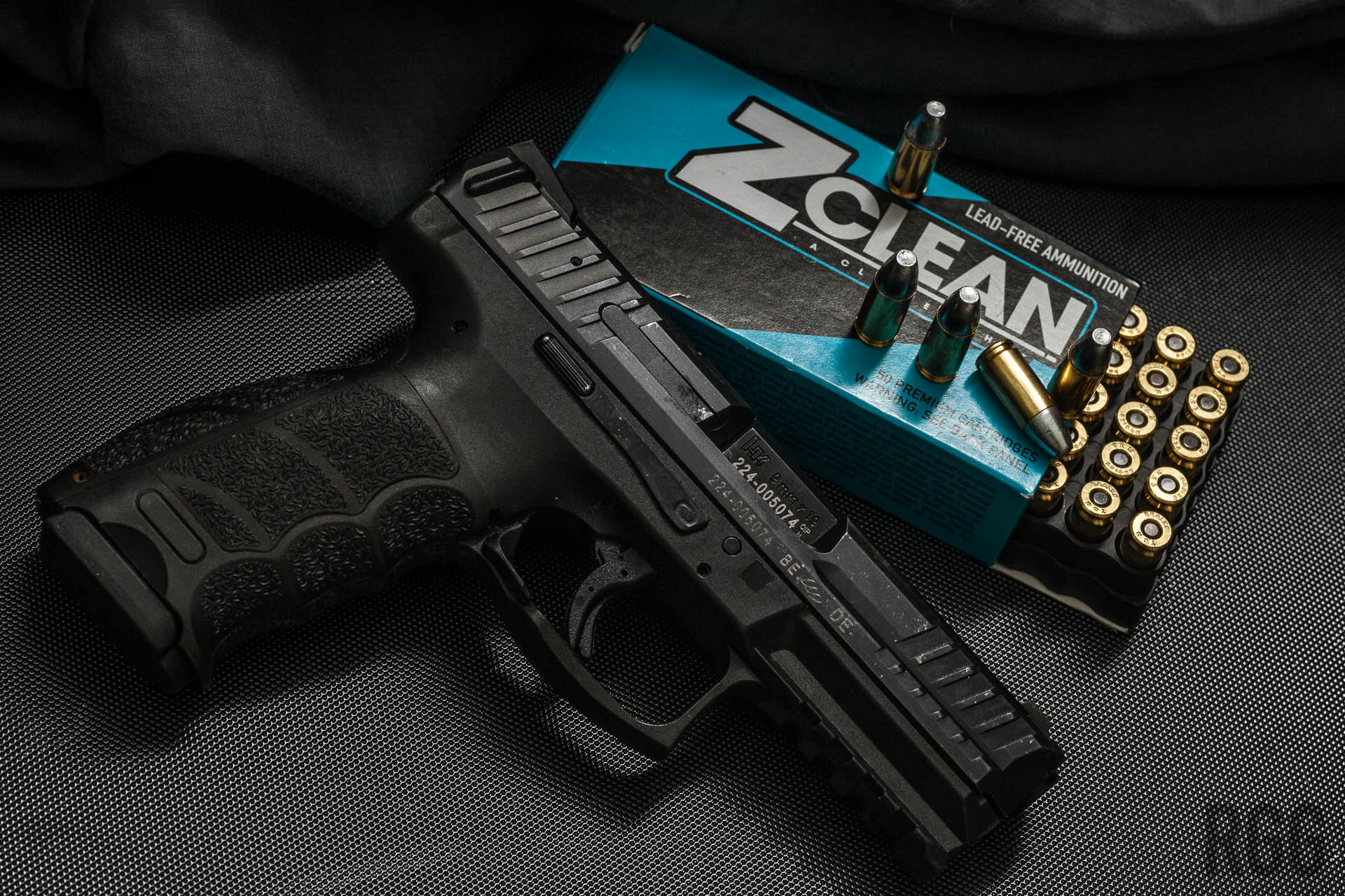 Alchemist Ammunition's Z-Clean 100gr 9mm solid zinc projectile ammo performed admirably during my testing.